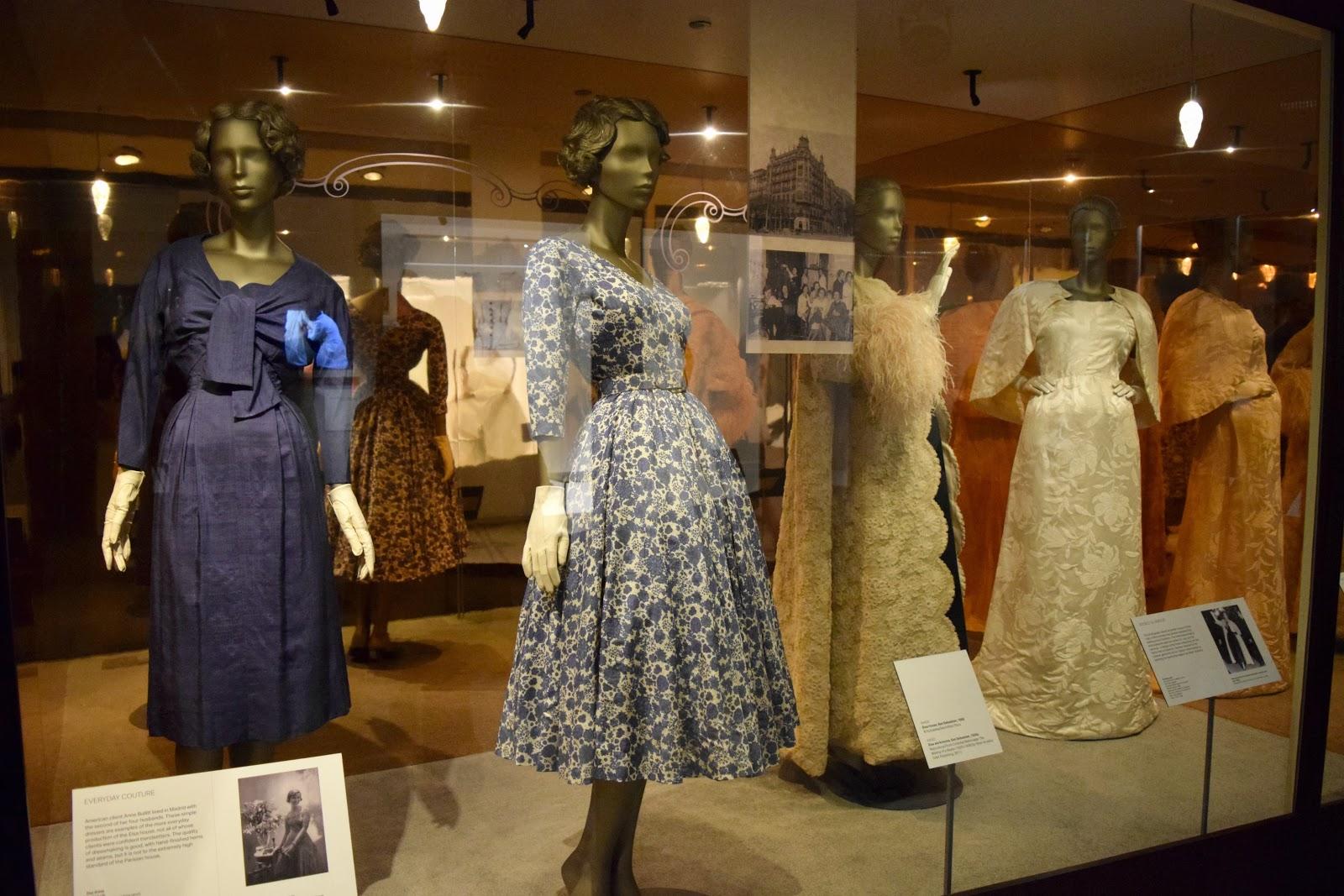 exhibits at balenciaga shaping fashion exhibition london