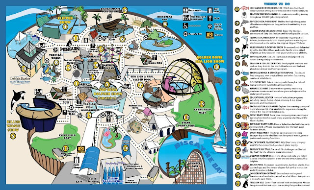 Miami Seaquarium Mapa