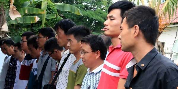 Turis China Buat Perkampungan di Tengah Hutan Kabupaten Bogor