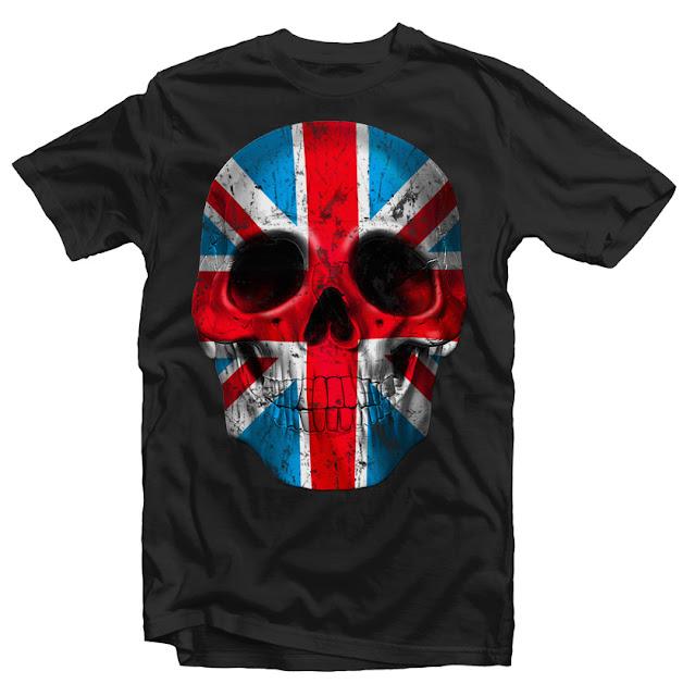 skull tshirt design