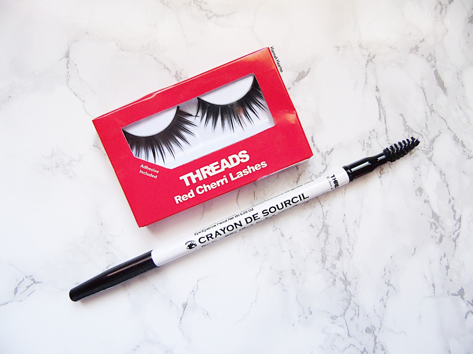 Threads False Lashes & Brow Pencil