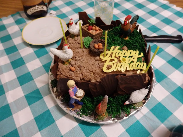 Possum Valley Animal Sanctuary Inc Chicken Themed Birthday Cake