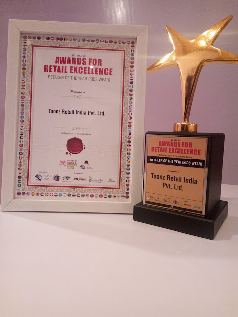 Toonz Retail bags 2 awards at the Asia Retail Congress
