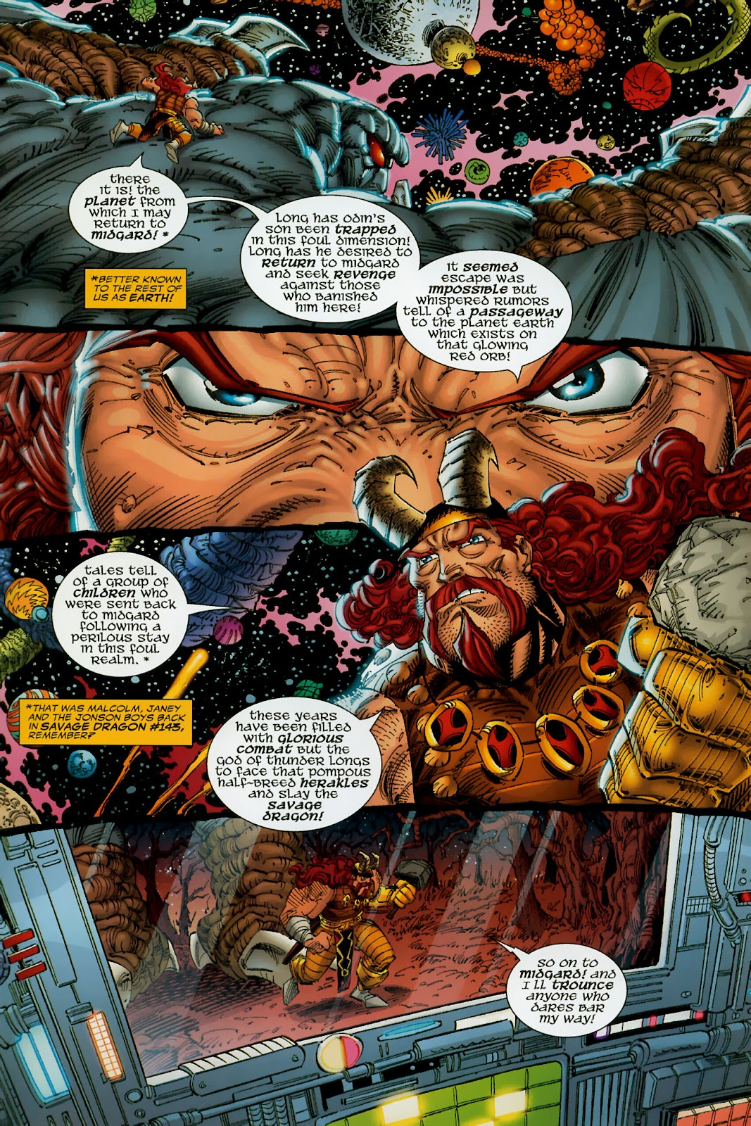 The Savage Dragon (1993) Issue #150 #153 - English 42