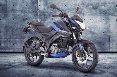 New 2017 Bajaj Pulsar NS 160 blue color