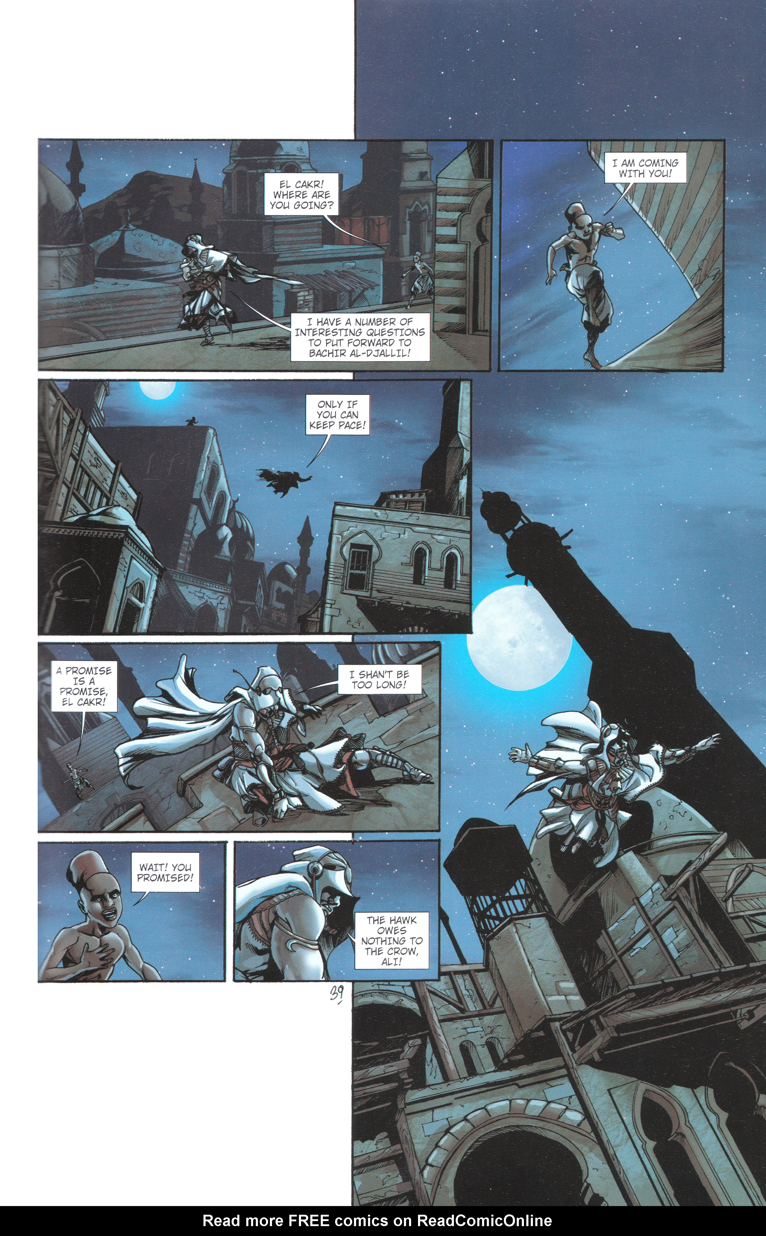 Read online Assassin's Creed (2012) comic -  Issue #4 - 41