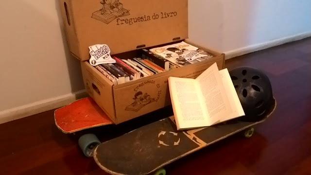 Ação de inclusão social une literatura e skate em Curitiba