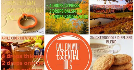 Fun Fall Recipes with Essential Oils