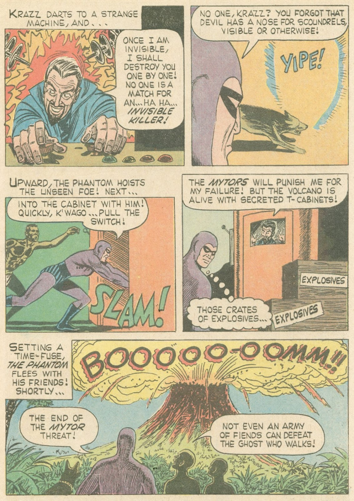 The Phantom (1966) issue 20 - Page 29