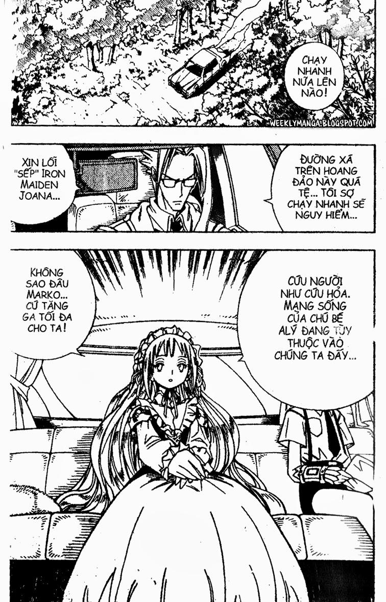 Shaman King [Vua pháp thuật] chap 155 trang 18