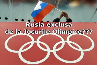 de ce a fost exclusa rusia de la jocurile olimpice rio