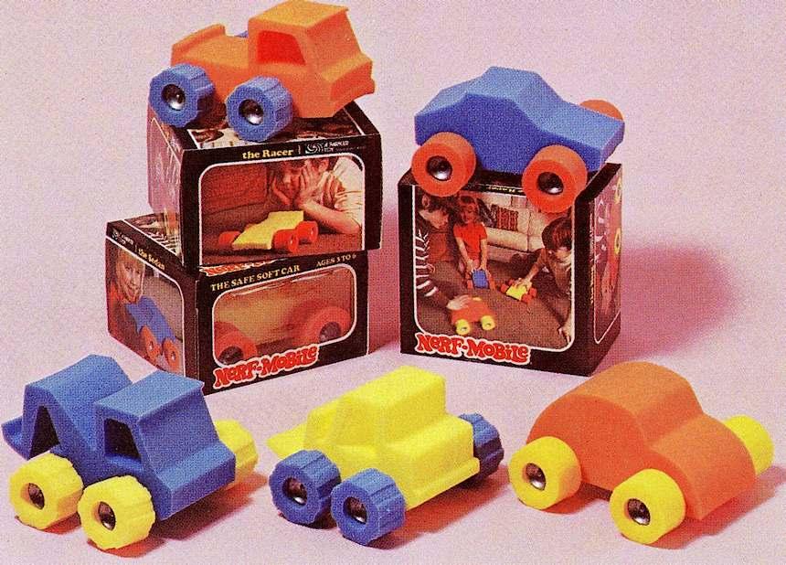 1975 Nerf toys ad photo
