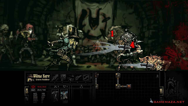 Darkest Dungeon Gameplay Screenshot 3