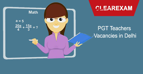 PGT Teachers Vacancies in Delhi