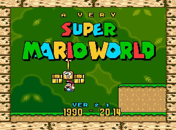 Download Rom Hack - A Very Super Mario World