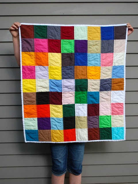 Abby Glassenberg, Interview, Sewing, Quilt