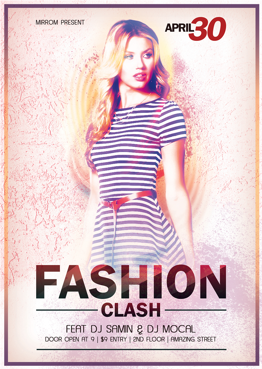 Create a Fashion Flyer Style Bright Texture In Photoshop