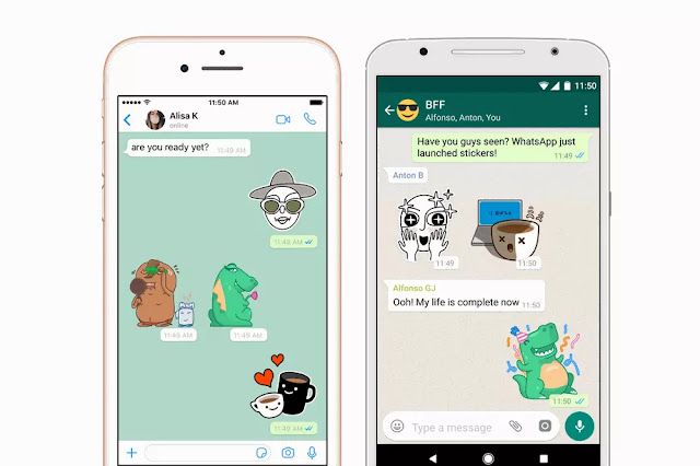 You can now send stickers from WhatsApp to your friends