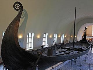 Visite du musée Viking à Olso, sud de la Norvège