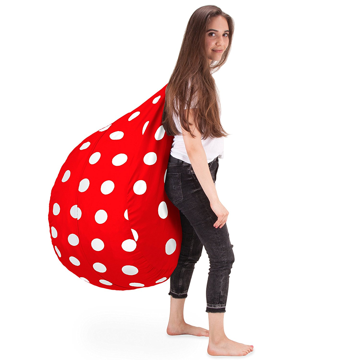 panda bean bag chair ricon wheel lift tiny home lifestyle reviews love the whimsical red and