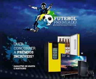 Cadastrar Promoção Futebol Premiado 2018 Lojas Físicas e Online
