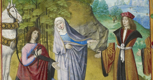 Were women ever sacred? Some medieval and modern men would like us to think so...