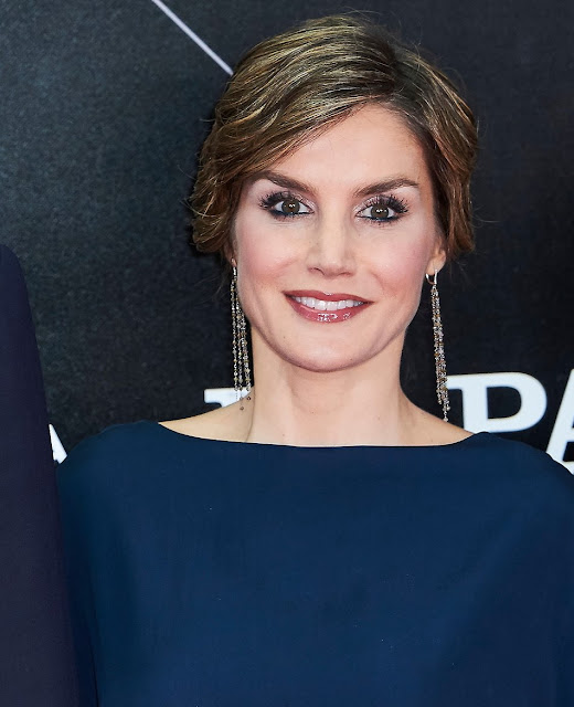 King Felipe and Queen Letizia of Spain attended the El Pais 40th anniversary dinner and 'Ortega y Gasset' awards ceremony