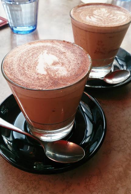 Gramercy Bistro, Prahran, Chai latte