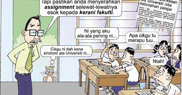Aksi cikgu dengan murid 7