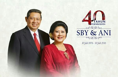 Sby &ani yudhoyono rayakan 40 tahun usia pernikahan