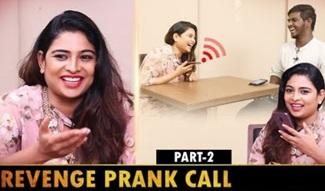 Zee Tamil VJ Maheshwari Funniest PHONE PRANK EVER!