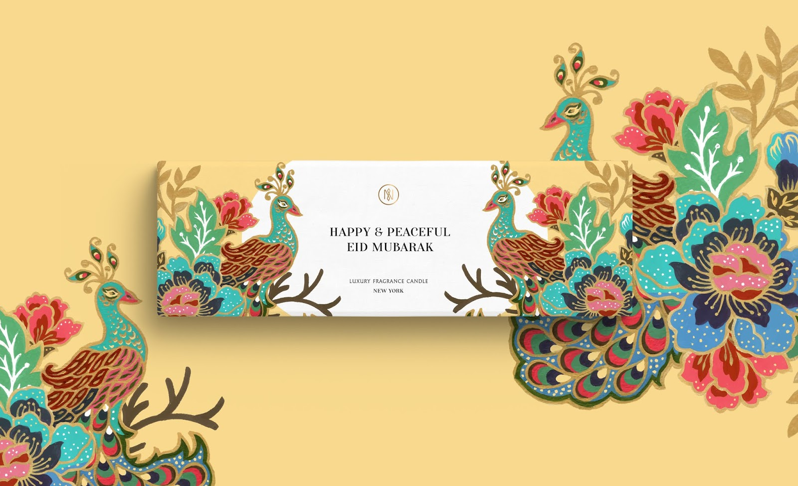 The Glory Of Eid Mubarak On Packaging Of The World Creative Package Design Gallery