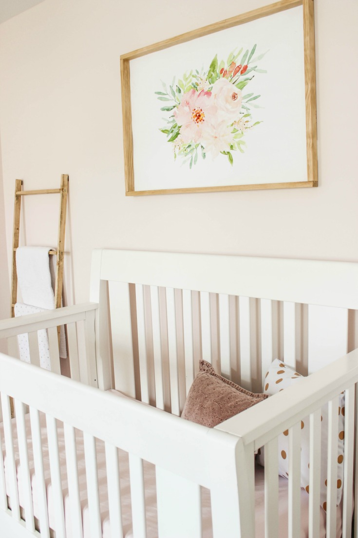 Blush Pink Nursery Reveal  Delightfully Noted