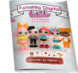 Apostila digital Bonecas LOL Surprise de 40cm - 2ªEdição