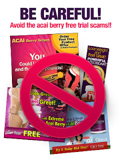 acai berry scams