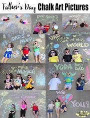 Father's Day Chalk Art Pictures