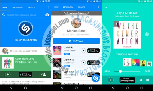 Shazam Apk V5.12.2 Aplikasi Untuk Mengetahui Judul Lagu yang di Dengar