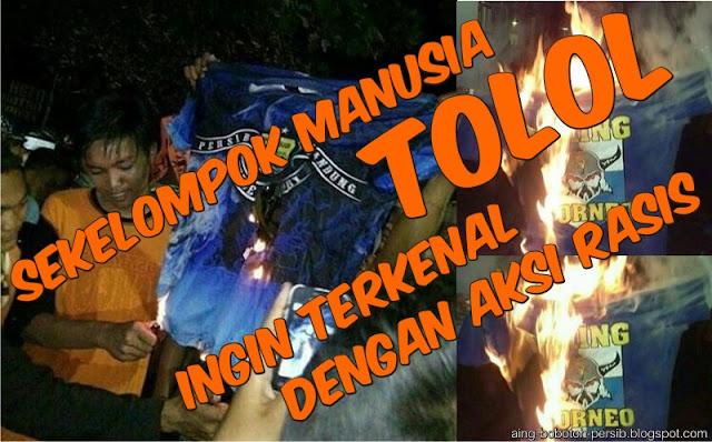 Aksi Rasis Yang Dilakukan Suporter Pusamania, Mau Coba Bangunkan Maung Bandung ?