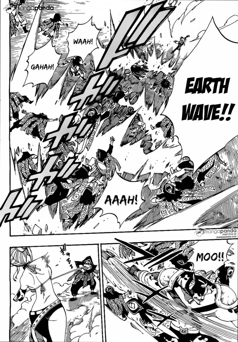 Fairy Tail Ch 431: My sword is...