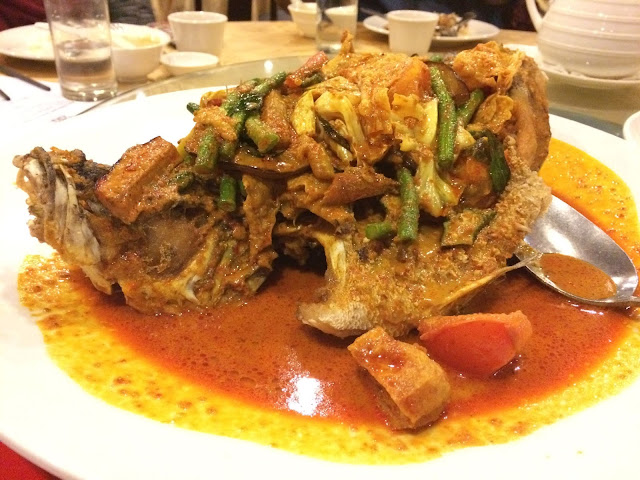 Indonesian Style Curry Fish