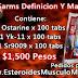 Ciclo Sarms Definicion Y masa magra - precio ( $1,500 pesos ) Dragon Pharma