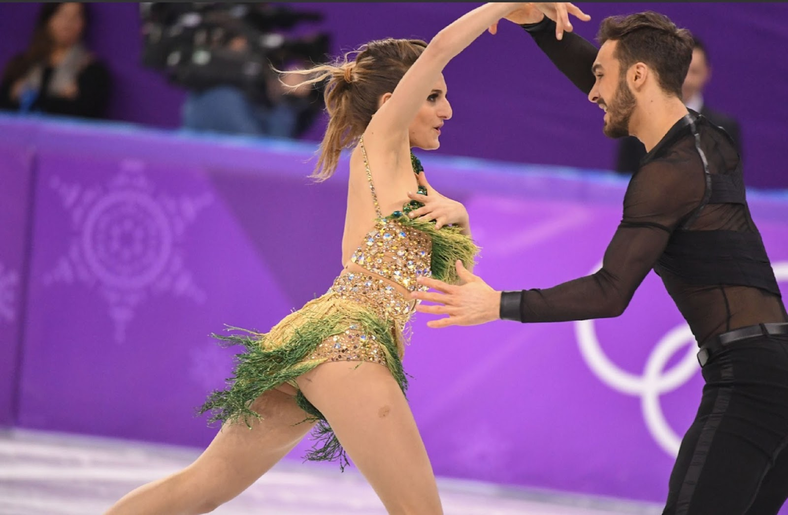 WINTER OLYMPICS : FRANCE'S GABRIELLA PAPADAKIS WARDROBE ...