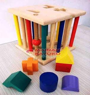 Mainan Edukasi TK PAUD Geo Sangkar
