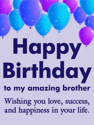 Happy Birthday Brother Wishes Messages And Quotes With Images