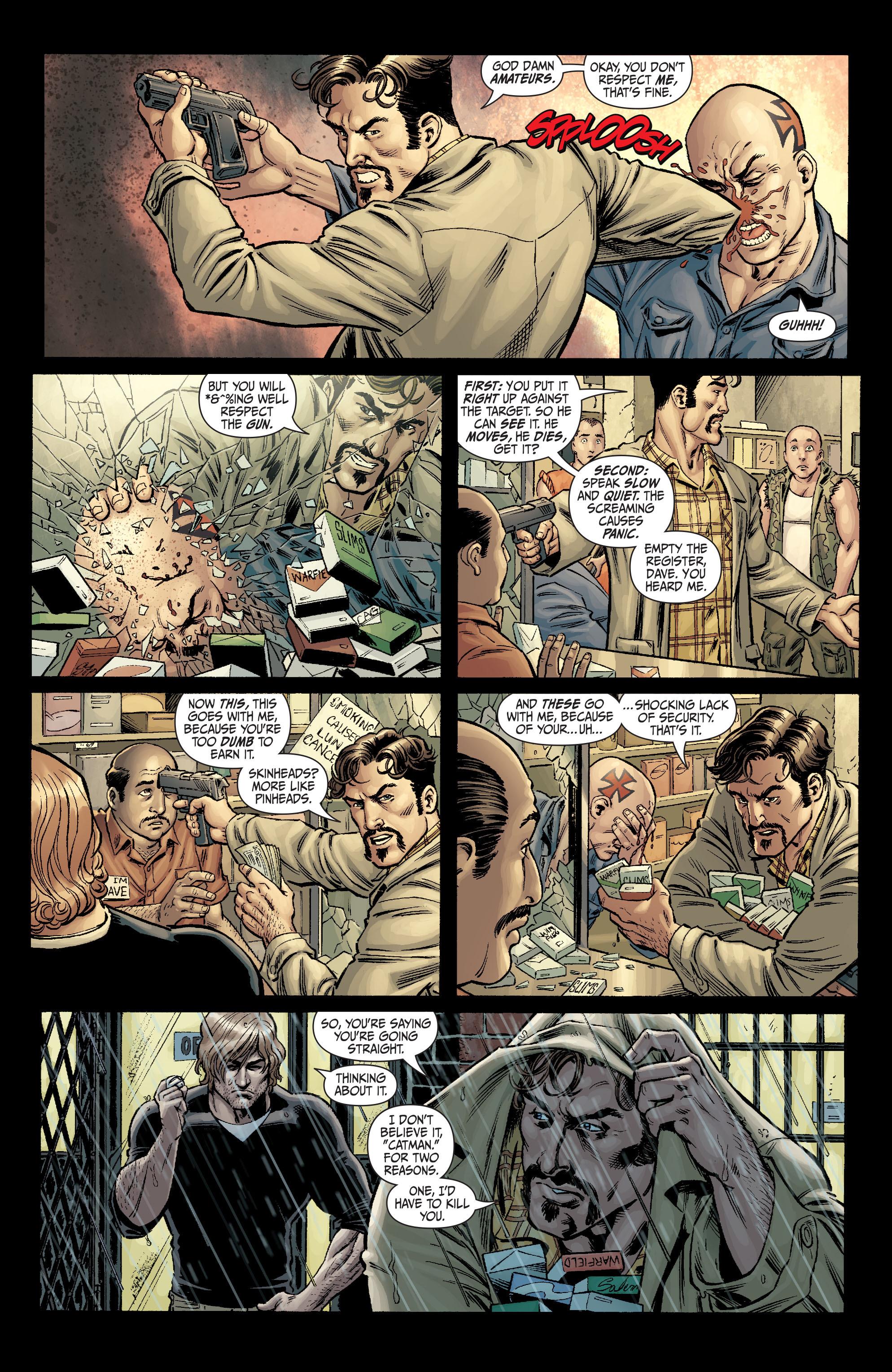 Read online Secret Six (2008) comic -  Issue #1 - 13