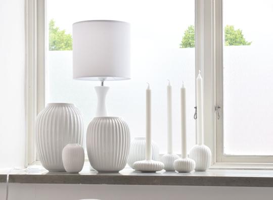 Kähler Hammershøi vaser och ljusstakar | www-var-dags-rum.se