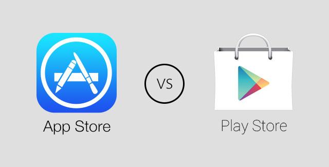 Google Play و App Store