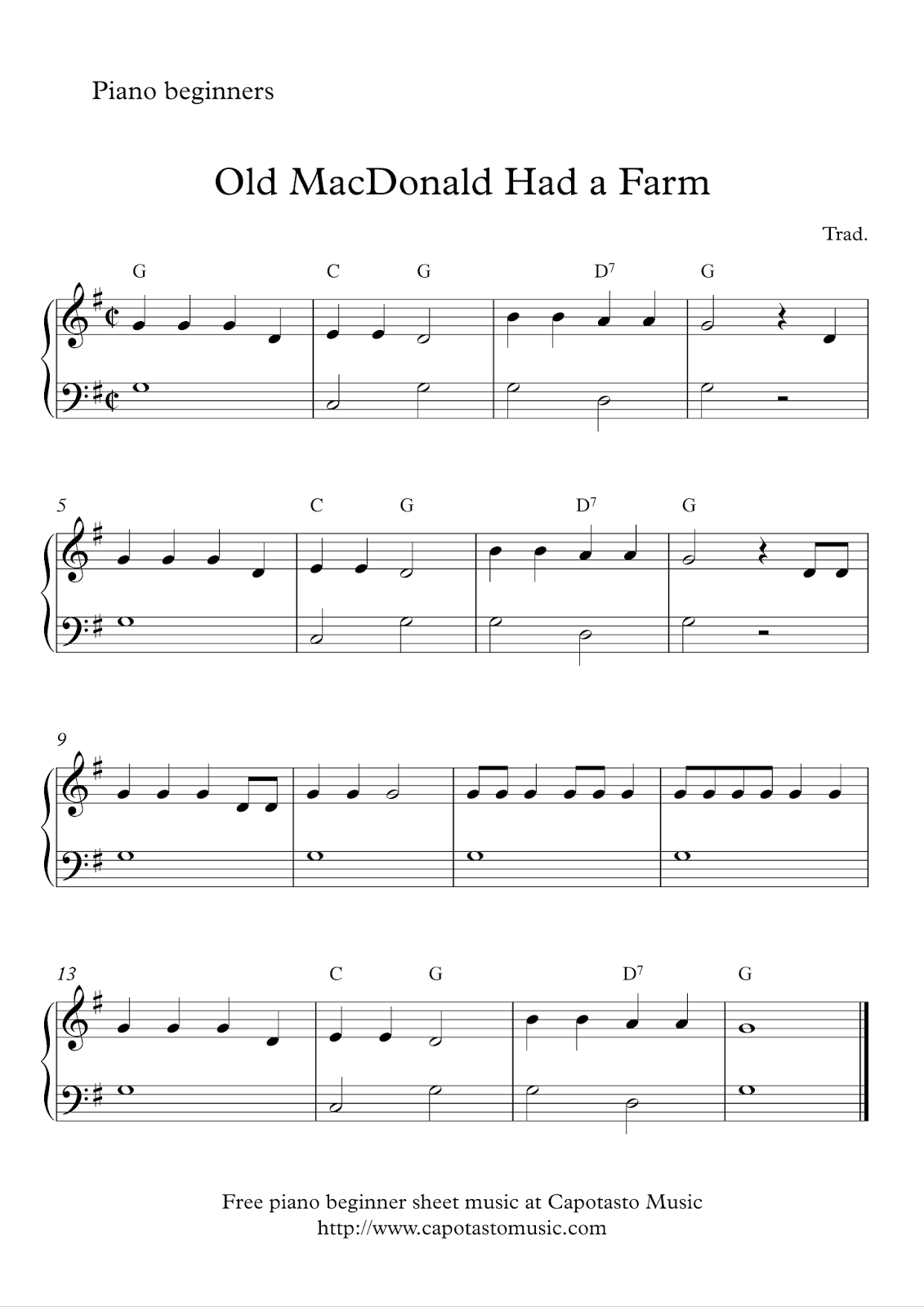 Piano Sheet Music Popular Songs With Letters