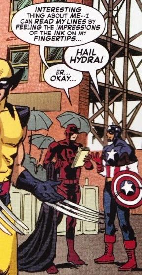 Шибайголова і Капітан Америка