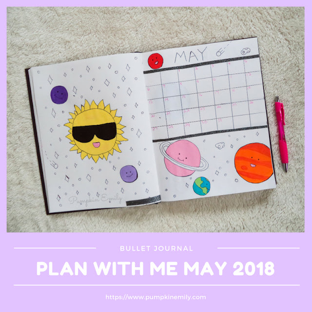 Plan With Me May 2018 | Bullet Journal Setup